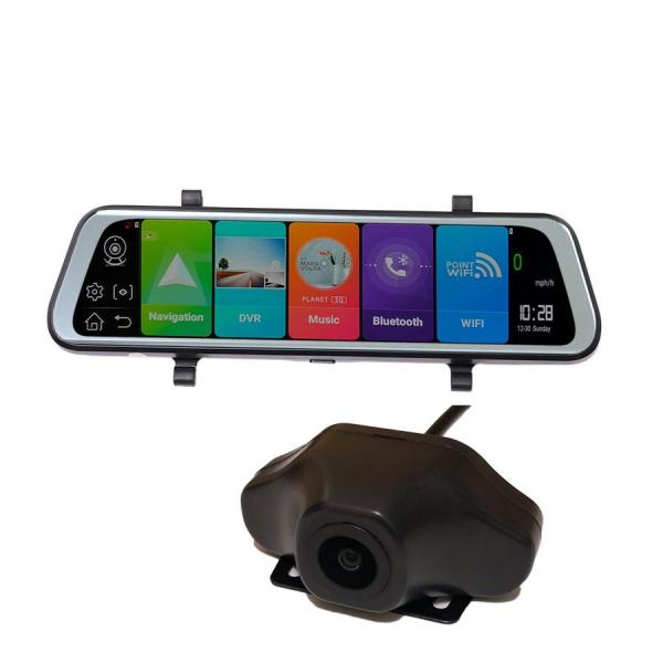 Oglinda Retrovizoare Star Senatel E10, slot sim 4G, 10 HD, Android 8.1, Camera Fata, Spate, Wireless, Bluetooth, ADAS, GPS imagine