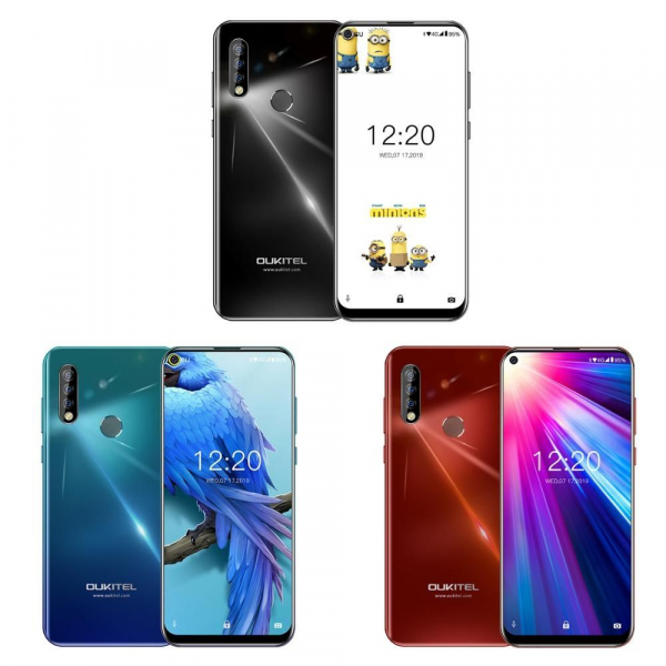 Telefon mobil Oukitel C17, IPS 6.35 inch, 3GB RAM, 16GB ROM, Android 9.0, MT6763, ARM Mali-G71 MP2, Octa Core, 3900mAh, Dual Sim imagine