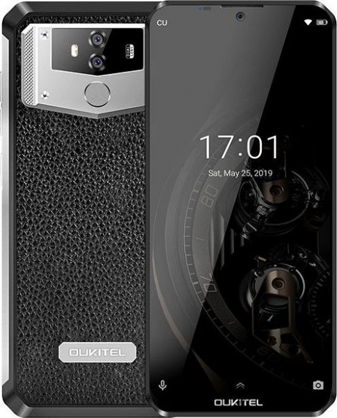 Telefon mobil Oukitel K12, IPS 6.3inch, Android 9.0, 6GB RAM, 64GB ROM, MT6765 OctaCore, 10000mAh, Amprenta, Dual SIM imagine