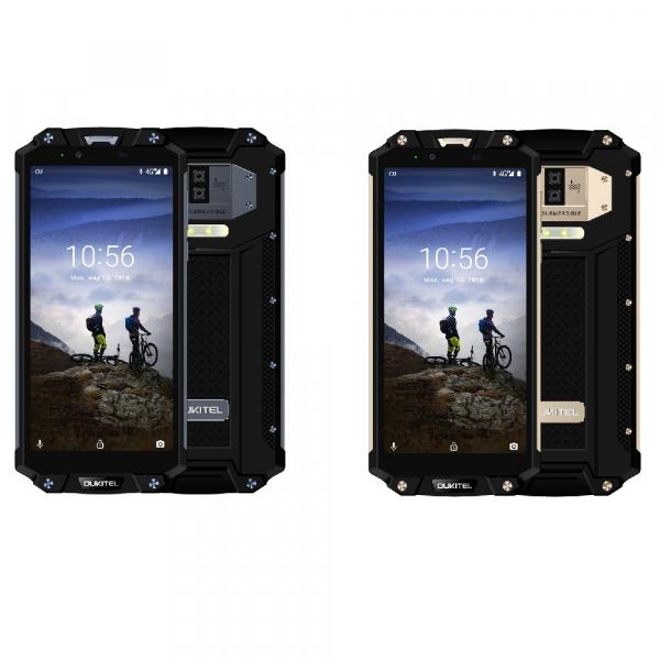 Telefon mobil Oukitel WP2, 4G, Waterproof IP68, Android 8.0, 10000mAh, 4GB RAM, 64GB ROM, 6.0 inch 18:9, OctaCore, Amprenta, NFC imagine