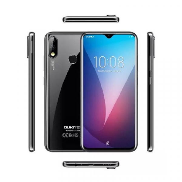 Telefon mobil Oukitel Y4800, 6 GB RAM, 128 GB ROM, Android 9.1, MediaTek Helio P70, Octa Core, 6.3 inch, 4000 mAh, Dual SIM imagine