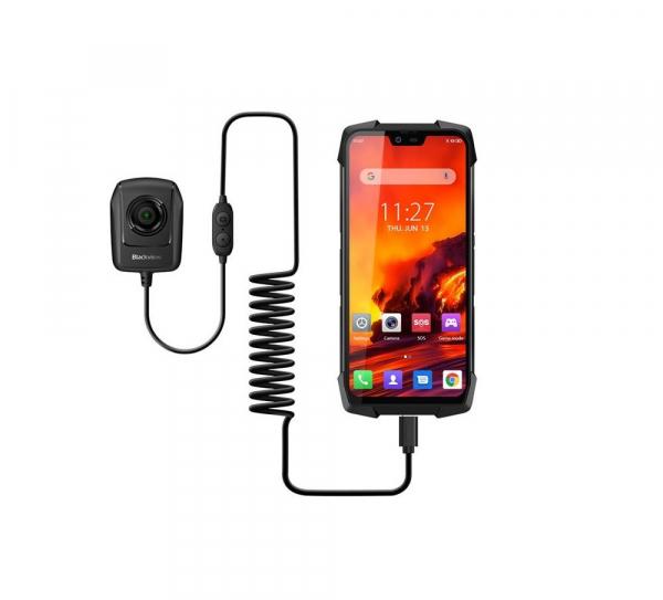 Pachet telefon mobil Blackview BV9700 Pro + Camera Night Vision, IPS 5.84inch, 6GB RAM, 128GB ROM, Android 9.0, Helio-P70 OctaCore, 4380mAh imagine