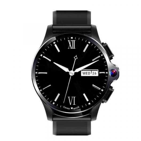 Smartwatch AllCall AWatch GT, 4G, IPS 1.6inch, 3GB RAM, 32GB ROM, Android 7.1, Wi-Fi, GPS, Cortex-A53 QuadCore, Face ID, 1260mAh, Negru imagine