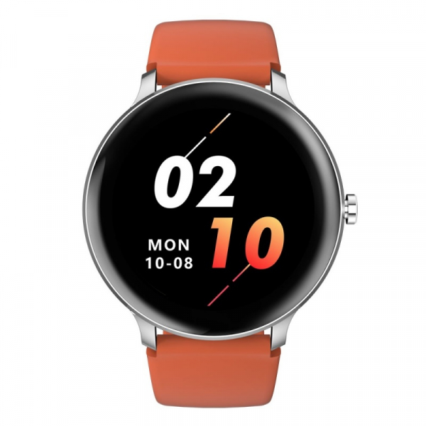 Smartwatch Blackview X2, LCD 1.3inch curbat 2D, Bluetooth, Control muzica, Waterproof 5ATM, 260mAh, Silver imagine