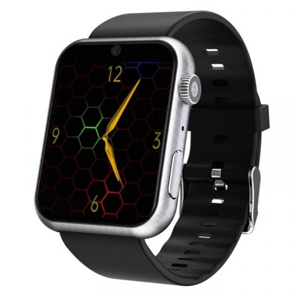 Smartwatch STAR S888, 4G, TFT 1.8 , 3GB RAM, 32GB ROM, Android 7.1, MTK6739 QuadCore, GPS, Wi-Fi dual band, Bluetooth, IP65, 800mAh, Silver imagine