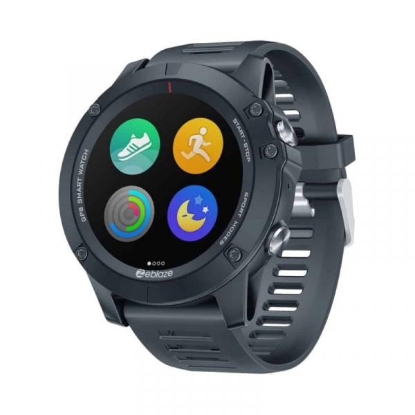 Smartwatch Zeblaze Vibe 3 GPS, IPS 1.3 , GPS, Ritm cardiac, Calorii, Meteo, Bluetooth, Waterproof, 280mAh, Negru imagine