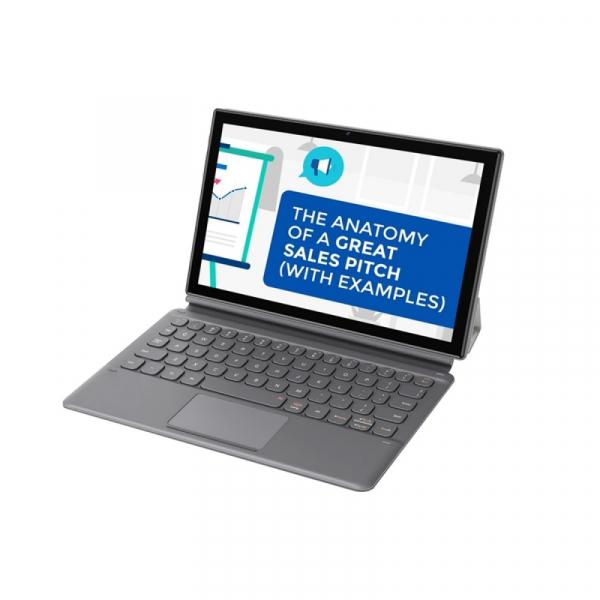 Tableta Blackview Tab 8 + Tastatura, 4G, IPS 10.1 FHD+, Android 10, 4GB RAM, 64GB ROM, OctaCore, 13MP, Face ID, 6580mAh, Dual SIM, EU, Gri imagine