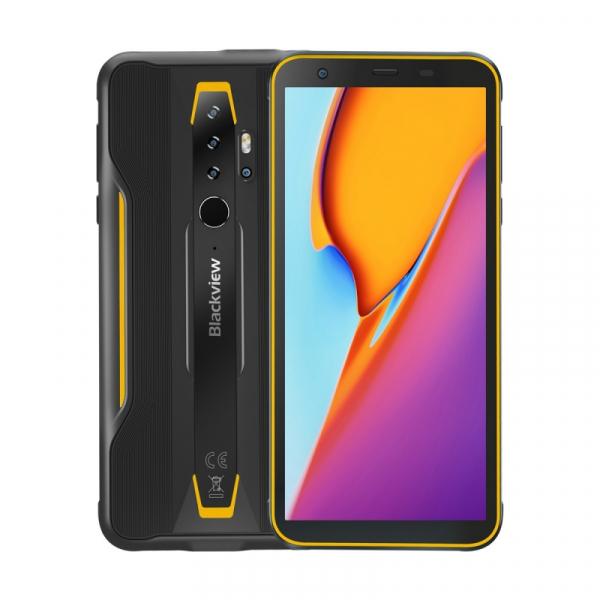 Telefon mobil Blackview BV6300, 4G, IPS 5.7 , 3GB RAM, 32GB ROM, Android 10, Helio A25 OctaCore, IP69K, 4380mAh, Dual SIM, Galben imagine