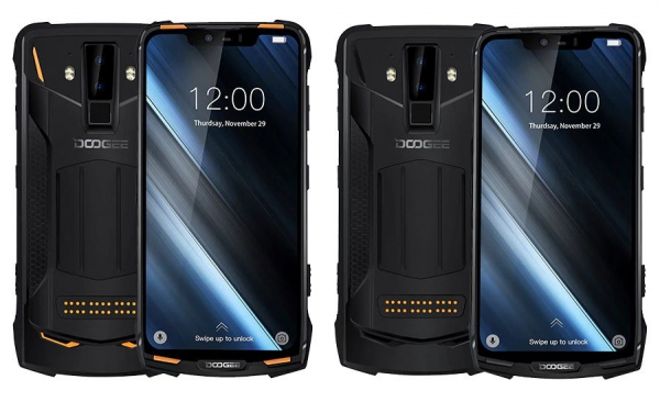 Telefon mobil modular Doogee S90, IPS 6.18inch, Android 8.1, OctaCore, 6GB RAM, 128GB ROM, Waterproof imagine