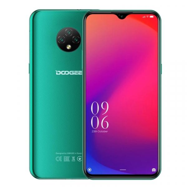 Telefon mobil Doogee X95, 4G, IPS 6.52inch, 2GB RAM, 16GB ROM, Android 10, MTK6737T QuadCore, IP68, 4350mAh, Dual SIM, Verde imagine