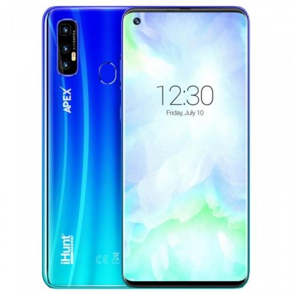 Telefon mobil iHunt S20 Ultra ApeX 2021, 4G, IPS 6.55 , 3GB RAM, 32GB ROM, Android 10, MTK6737V QuadCore, 5000mAh, Dual SIM, Albastru imagine