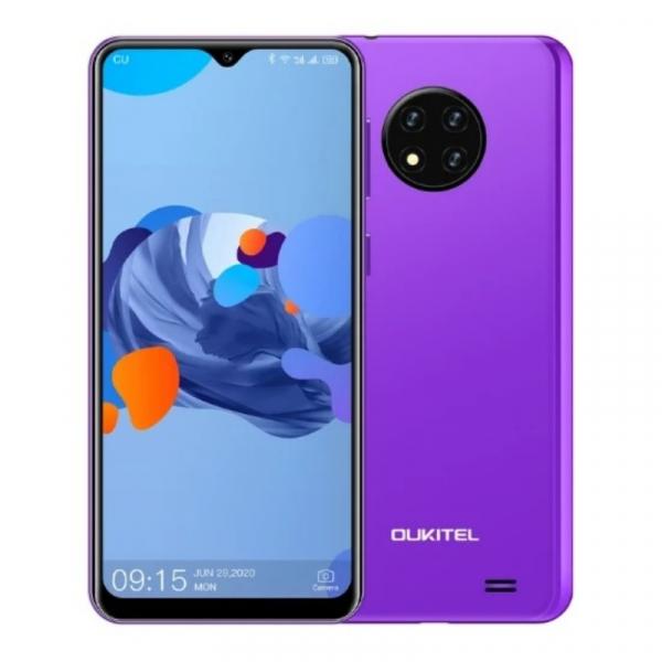 Telefon mobil Oukitel C19, 4G, IPS 6.49 , 2GB RAM, 16GB ROM, Android 10 GO, MTK6737 QuadCore, 4000mAh, Dual SIM, Mov imagine