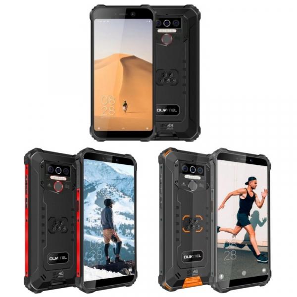 Telefon mobil Oukitel WP5, IPS 5.5inch, 4GB RAM, 32GB ROM, Android 9.0, Dual SIM, QuadCore, 8000mAh imagine