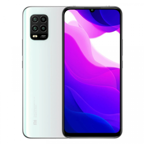 Telefon mobil Xiaomi Mi 10 Lite, 5G, AMOLED 6.57 , 6GB RAM, 128GB ROM, Snapdragon 765G OctaCore, 4160mAh, Dual SIM, Global, Alb imagine