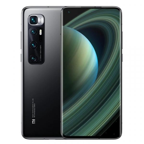 Telefon mobil Xiaomi Mi 10 Ultra Negru, 5G, AMOLED 6.67 curbat, 8GB RAM, 256GB ROM, Snapdragon 865, MIUI v12, 4500mAh, ROM global imagine
