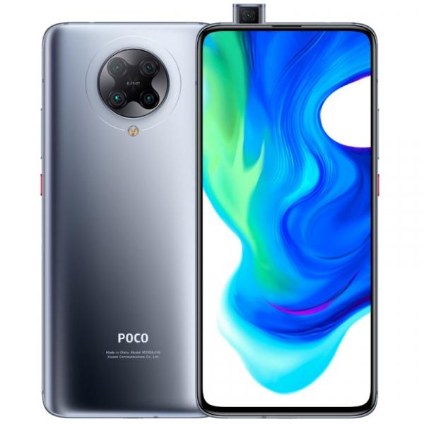 Telefon mobil Xiaomi POCO F2 Pro, 5G, AMOLED 6.67inch, 6GB RAM, 128GB ROM, Android 10, Snapdragon865 OctaCore, Dual SIM, 4700mAh, Gri imagine