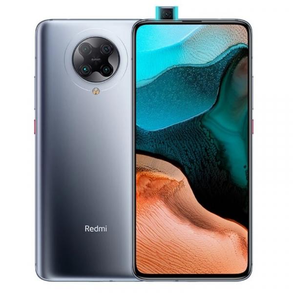 Telefon mobil Xiaomi Redmi K30 Pro, 5G, AMOLED 6.67inch, 6GB RAM, 128GB ROM, Android 10, Snapdragon865 OctaCore, Dual SIM, 4700mAh, Gri imagine