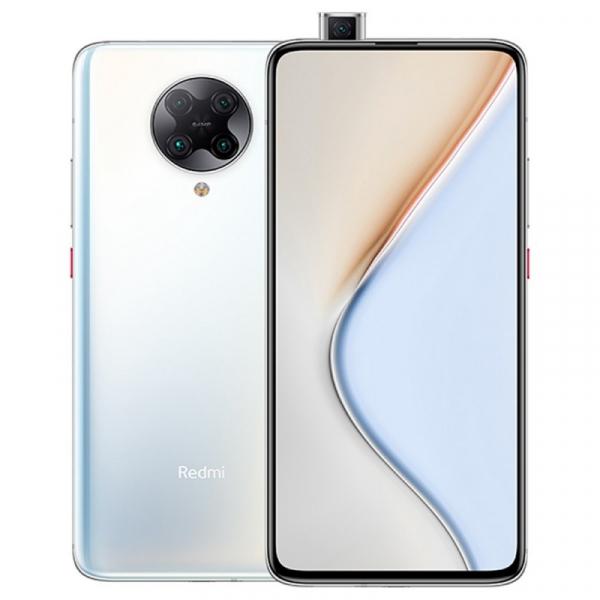 Telefon mobil Xiaomi Redmi K30 Pro, 5G, AMOLED 6.67inch, 6GB RAM, 128GB ROM, Android 10, Snapdragon865 OctaCore, Dual SIM, 4700mAh, Alb imagine