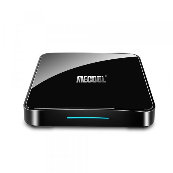 TV Box Mecool KM3 Smart Media Player, 4GB Ram, 128 GB ROM, Android 9.0, QuadCore, Control vocal imagine