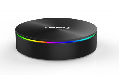 TV BOX T95Q 4K Smart Media Player 4 64G DDR4 Quad Core 2.4G Amlogic S905X2 Android 8.1 imagine