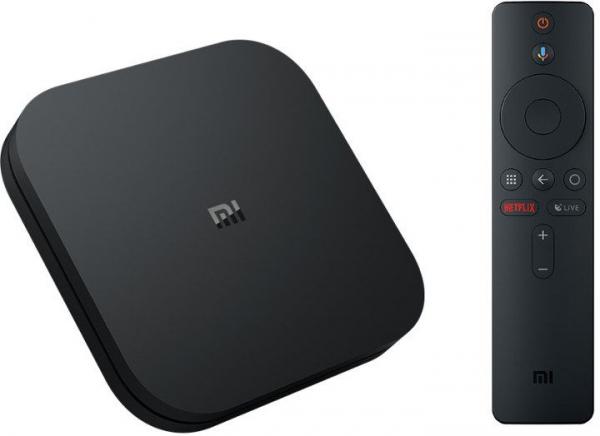 TV Box Xiaomi Mi Box S 4K global , 2GB RAM 8GB ROM, Cortex A53 Quad Core, Telecomanda cu microfon, USB, HDMI, Wireless imagine
