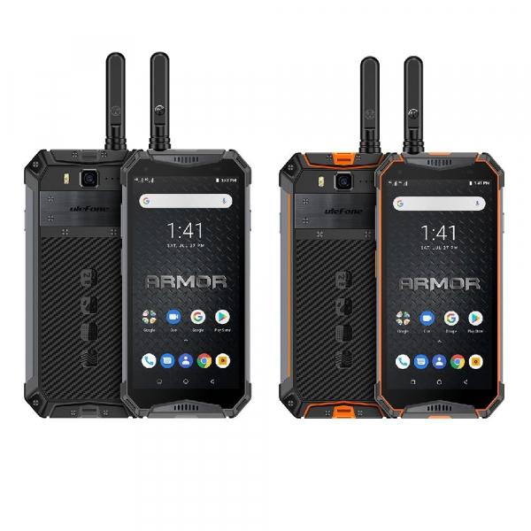 Telefon mobil Ulefone Armor 3WT, IPS 5.7 , Android 9, 6GB RAM, 64GB ROM, MediaTek Helio P70, Octa-Core, Walkie-Talkie, Dual-SIM, 10300mAh imagine