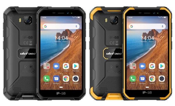 Telefon mobil Ulefone Armor X6, 3G, IPS 5.0inch, 2GB RAM, 16GB ROM, MediaTek MT6580 QuadCore, ARM Mali-400, Android 9.0, 4000mAh imagine