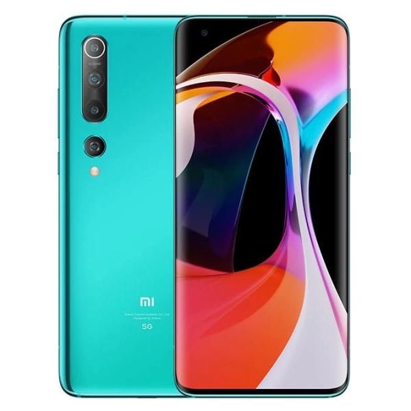 Telefon mobil Xiaomi Mi 10, 5G, 8K, AMOLED 90Hz 6.67inch, 8GB RAM, 256GB ROM UFS3.0, Snapdragon 865, WIFI 6, NFC, 4780mAh, Global, Verde imagine