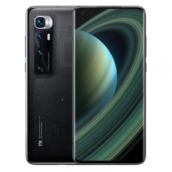 Telefon mobil Xiaomi Mi 10 Ultra Transparent, 5G, AMOLED 6.67 curbat, 12GB RAM, 256GB ROM, Snapdragon 865, MIUI v12, 4500mAh, ROM global imagine