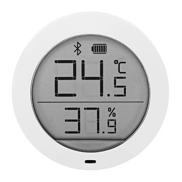 Higrotermograf Xiaomi Mijia, senzor wireless de temperatura si umiditate digital cu bluetooth, LCD 1.78inch imagine