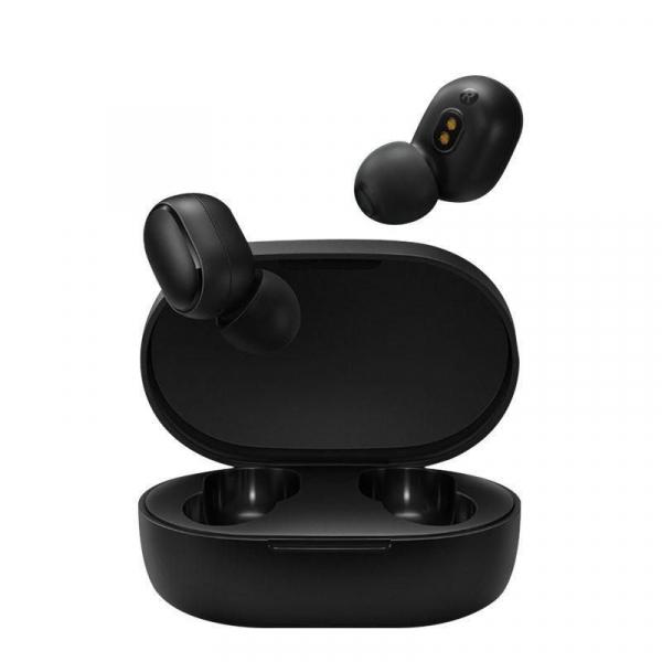 Casti wireless Xiaomi Redmi AirDots, Bluetooth 5.0, Mic, AI Control, DPS, Active Noise Cancel, Earbuds imagine