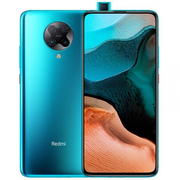 Telefon mobil Xiaomi Redmi K30 Pro, 5G, AMOLED 6.67inch, 8GB RAM, 256GB ROM, Android 10, Snapdragon865 OctaCore, Dual SIM, 4700mAh, Albastru imagine
