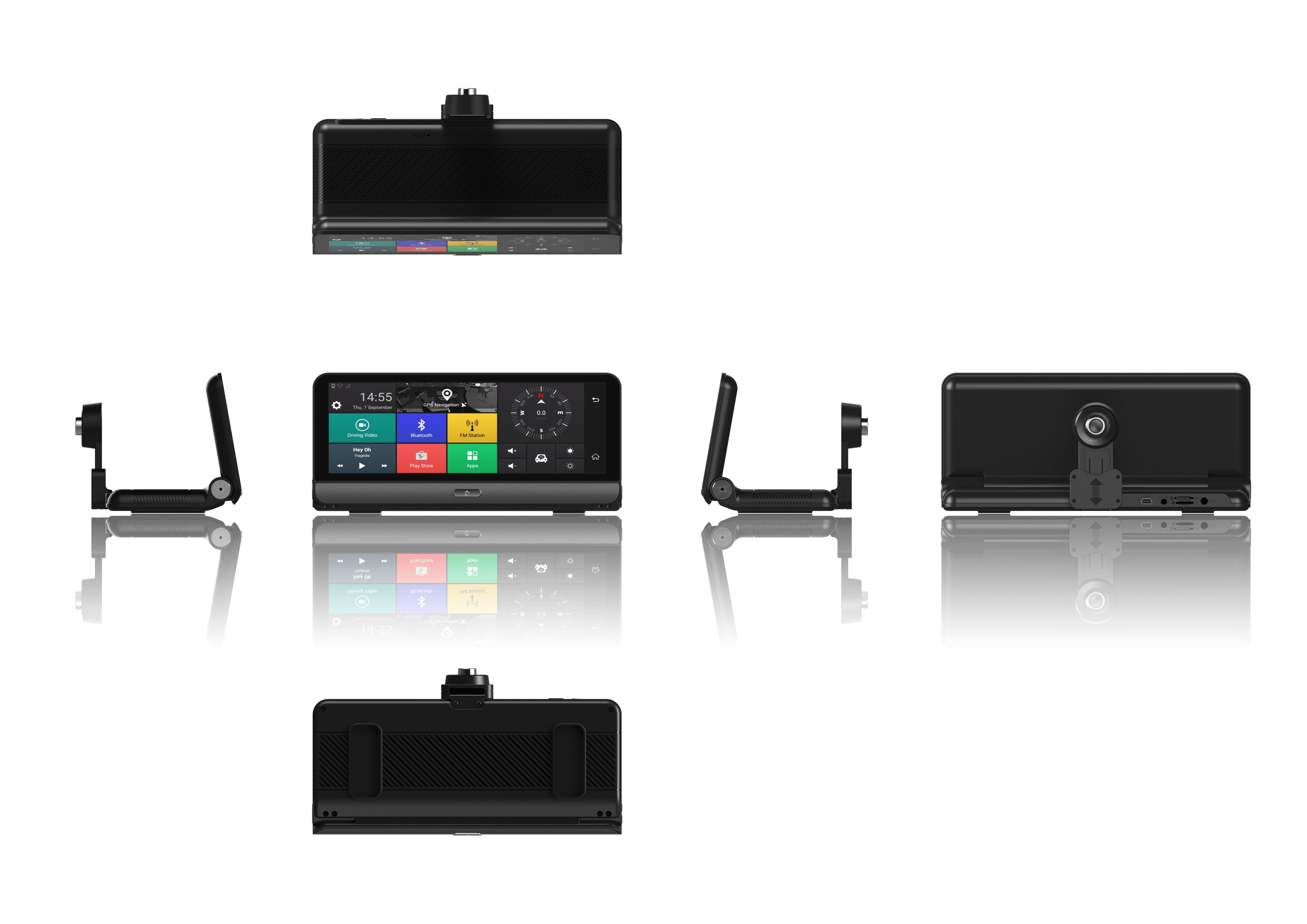 Navigator pentru bord Star E09 DVR 4G, Android 5.0, GPS, 8 inch, 1GB RAM 16GB ROM, Wifi, Bluetooth, Camera fata spate 7