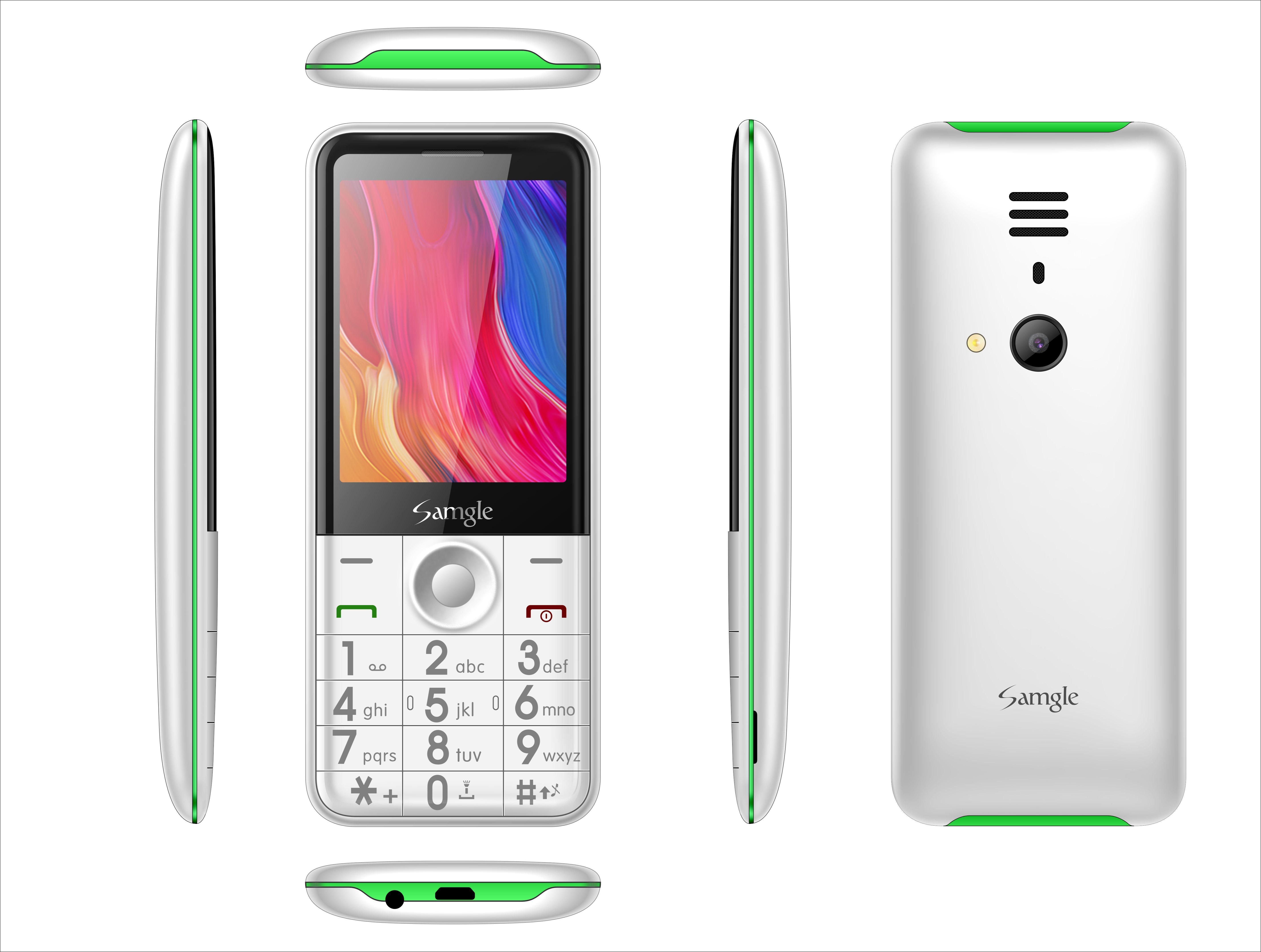 Telefon mobil Samgle Flash 3G, Ecran 2.8 inch, Bluetooth, Digi 3G, Camera, Slot Card, Radio FM, Internet, DualSim 3